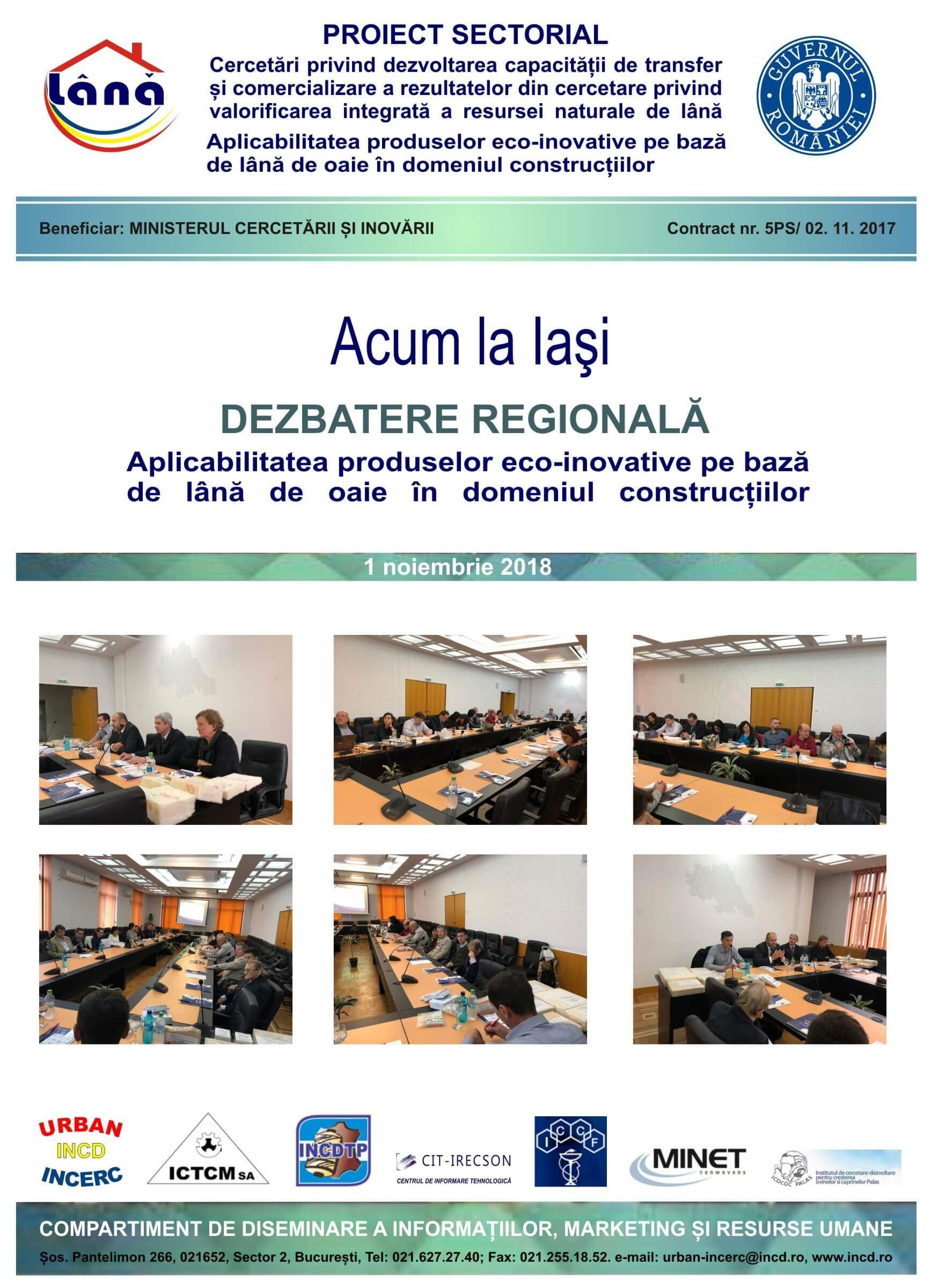 Program dezbateri regionale